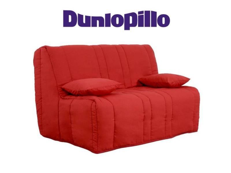 Canapé convertible bz milo griotte système slyde matelas dunlopillo 13cm 20100875396