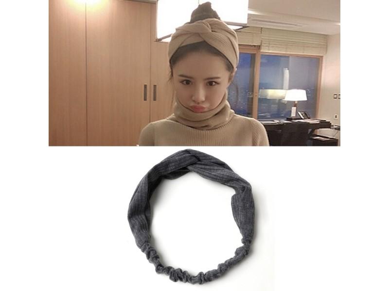 7f464fdc166f9 Bandeau femmes tempérament tricotant en forme de bande de cheveux ...