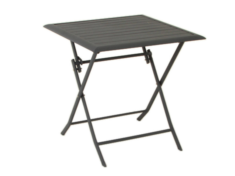 Table aluminium azua 2 places gris ardoise hespéride - Vente ...
