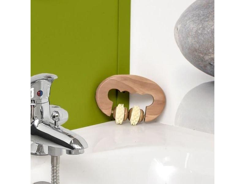 Set accessoires salle de bain rouleau de massage pour le ...