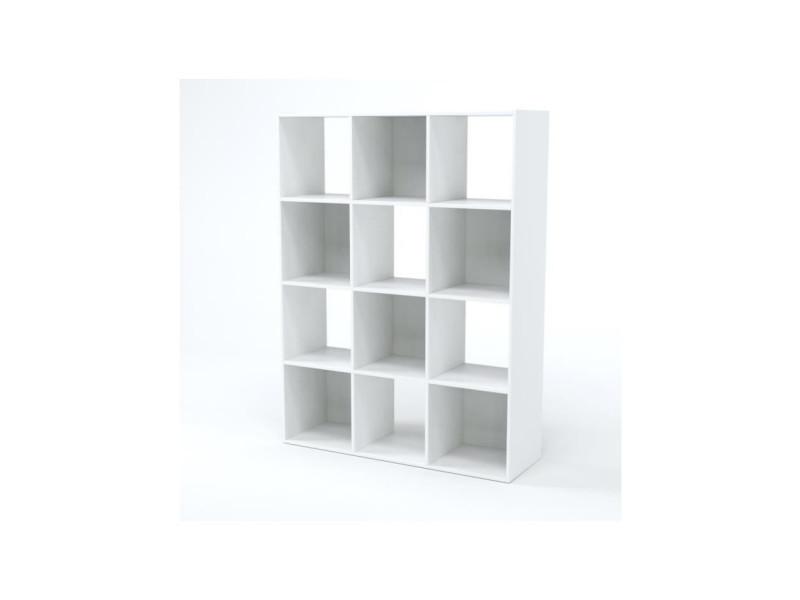 Compo cube 12 cases blanc