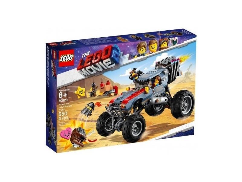 Buggy The Lego Movie Et 70829 D'emmet D'evasion Lucy Le ymOnw8Pv0N