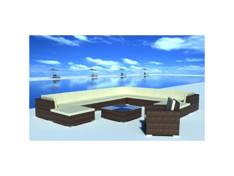 Meubles de jardin famille dakar jeu de meuble de jardin 35 pcs ...