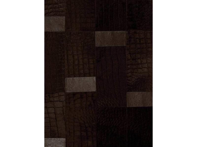 Tapis chambre caprice chocolat marron 200 x 280 cm tapis de salon ...