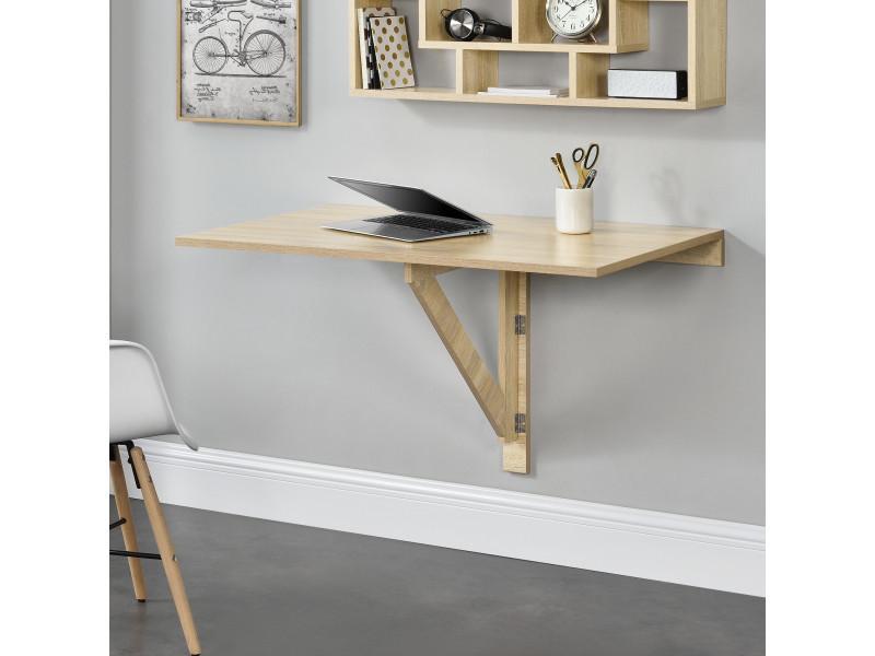 murale table rabattable table en table casa ® effet pliable SzMqUVGp