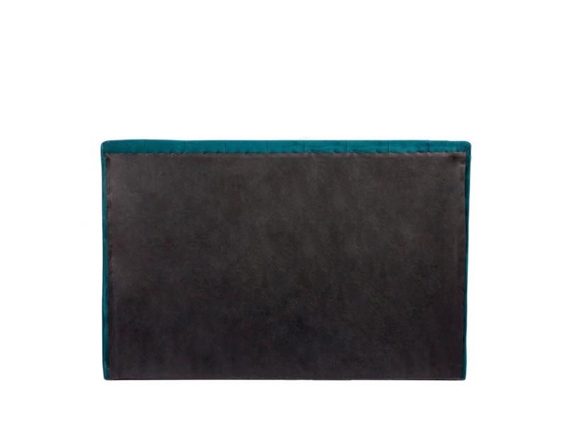 Nabucco Tete De Lit En Velours 170 Cm Couleur Bleu