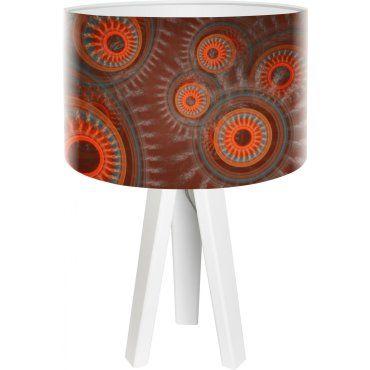 Koncept Vente 314w De Rouge Mini Mandala Foto Lampe Bps Chevet OXn0N8wPk