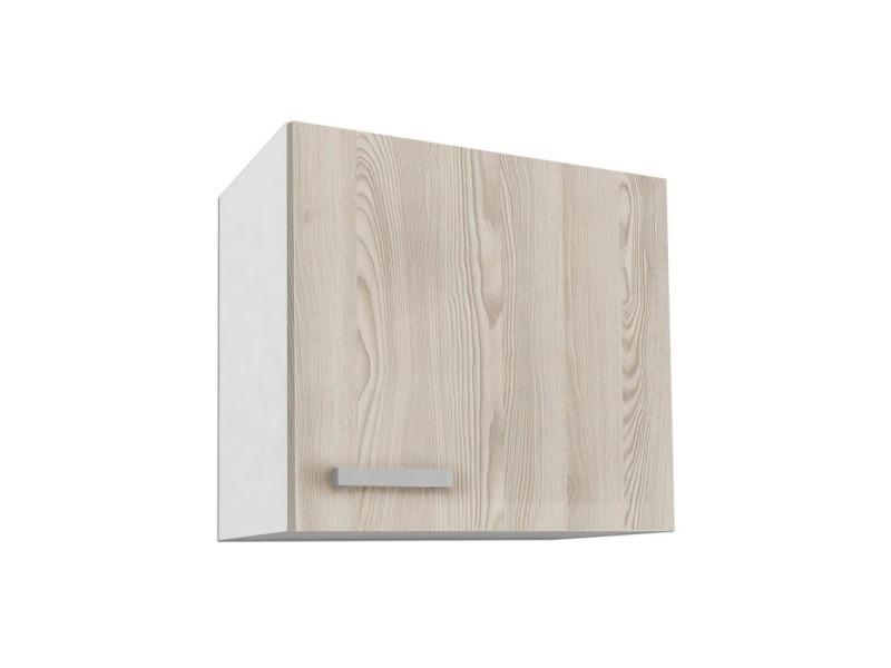 Start meuble haut de cuisine l 60 cm - décor frene sablé