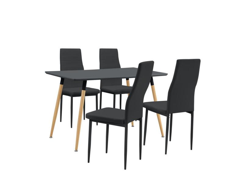 table de cuisine 120 par 70 avec chaises