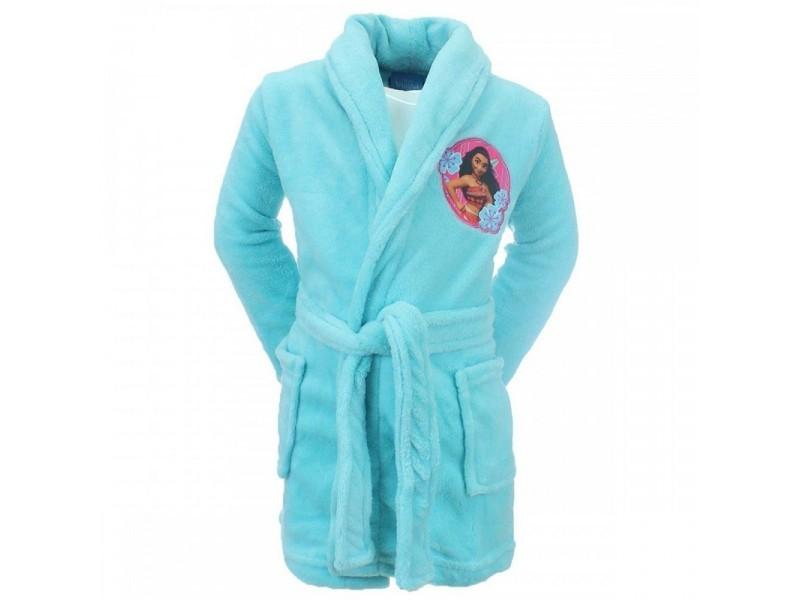 944734abd76d0 Peignoir vaiana 3 ans robe de chambre enfant bleu - Vente de Linge ...