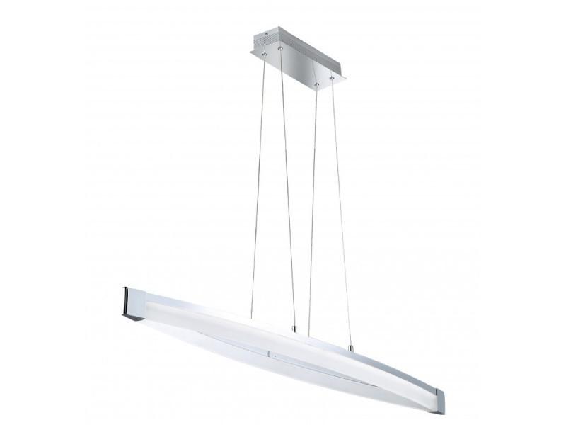 Led Suspension Ampoule Vannes 1 Luminaire Vente Chrome De v0N8mnw