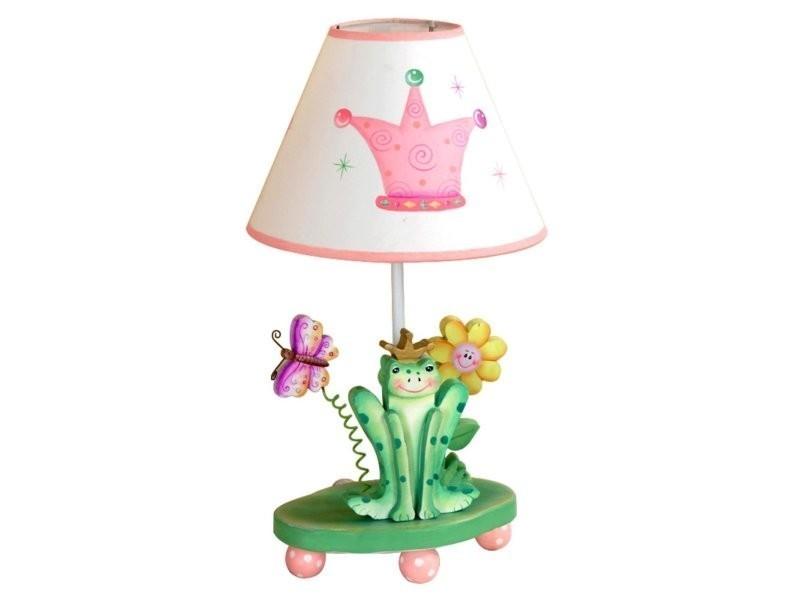 Lampe à Poser Enfant Princess Frog Chevet Bureau Chambre