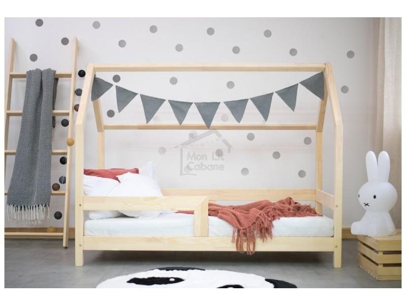 lit cabane cb 80x180 vente de monlitcabane conforama. Black Bedroom Furniture Sets. Home Design Ideas