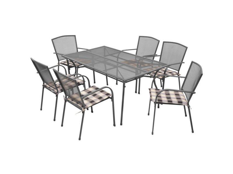 Meubles de jardin gamme dakar mobilier d\'extérieur avec coussins 13 ...