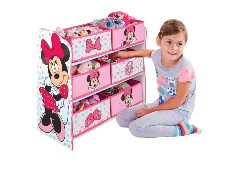 Minnie meuble de rangement pour chambre d'enfant avec 6 bacs - Vente de ROOM STUDIO - Conforama
