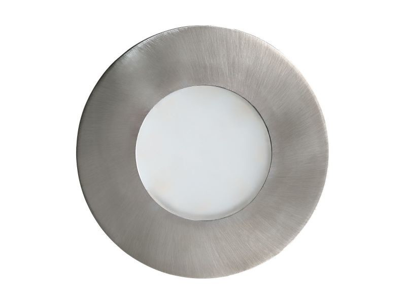 Spot led encastrable margo argenté en aluminium
