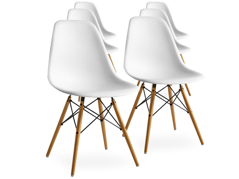 Style De Eiffel Chaises Lot Thcqrds Vente Scandinaves Blanches Home 6 4AjLq3R5