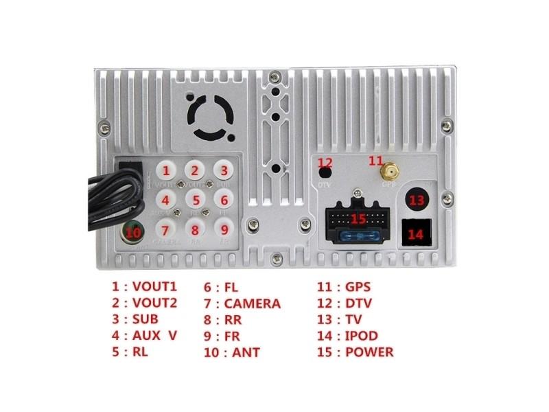 Autoradio Pour Hyundai Verna Avec Bluetooth Gps Rds 7