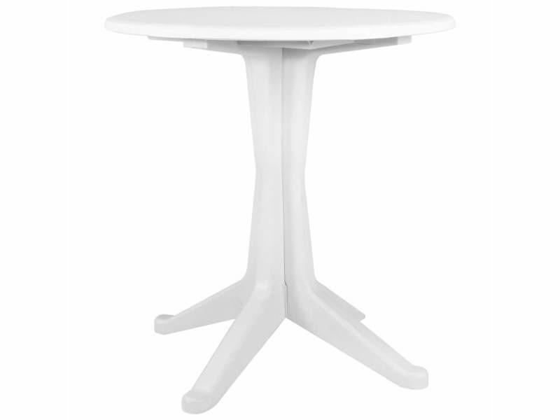Icaverne - tables de jardin ensemble table de jardin blanc ...