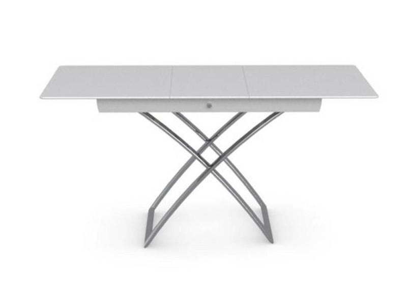 Table Basse Relevable Extensible Italienne Magic J Glass En