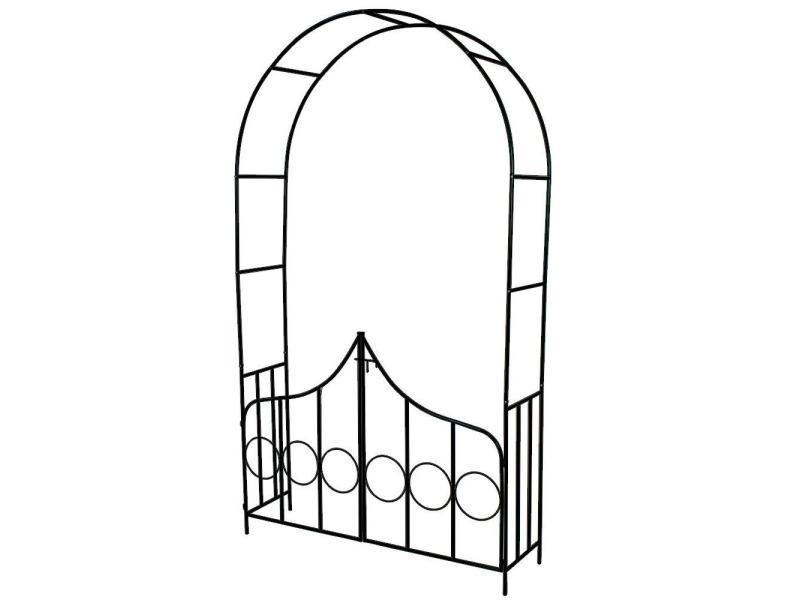 Arche Arceau Rosier Treillis De Jardin Support Pour Plantes
