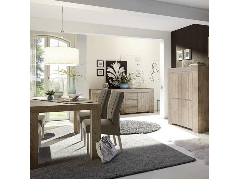 Salle à manger moderne couleur chêne murano 2 - Vente de ...