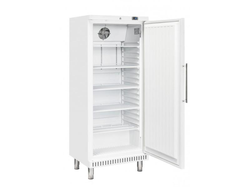 Armoire positive pâtissière blanche porte pleine - 400 litres - r600a 1 porte pleine