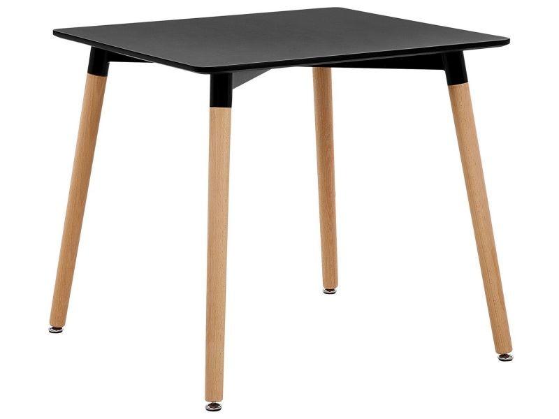 Table noire 80 x 80 cm busto 173924