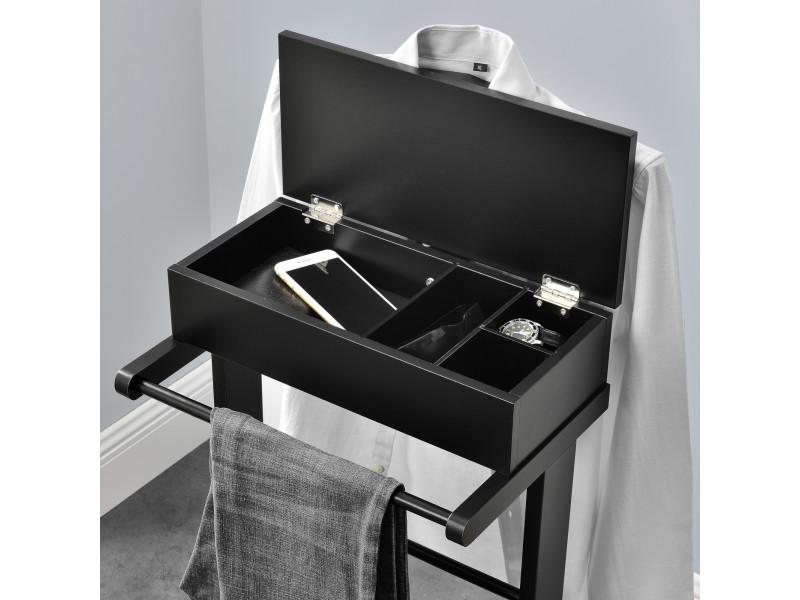 en.casa] valet de chambre avec boîte ouvrable avec 4 poches ...