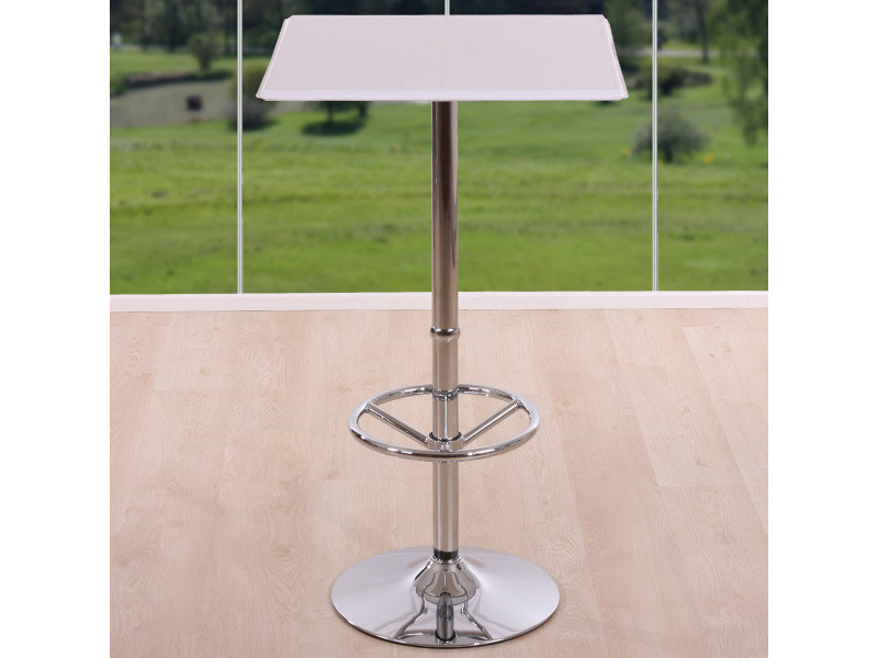 Table De ChicagoAvec 0kw8nOP Repose Pied Bar Haute 8wPkn0ONX