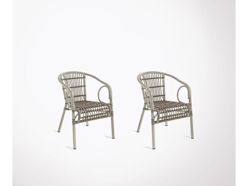 Vente 2 Table Et De Ensemble Hilma Chaises Chaise Extérieur Nnwv0m8