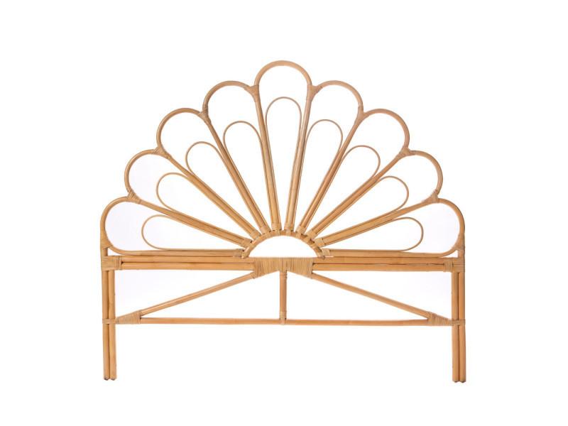Singaraja - tête de lit design en rotin - couleur - naturel ...