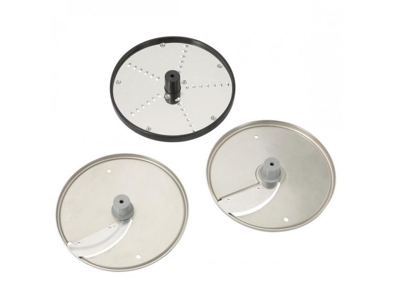 Kit 3 disques de coupe pour coupe-légumes prep4you - dito sama