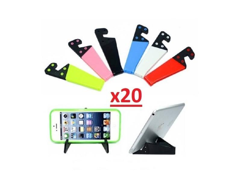 Stand Pliant Bureau 20 Universel Tablette Reglable Support Téléphone 0X8kPwnO