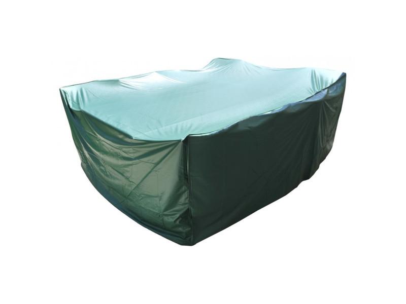 Housse de protection pvc salon de jardin vert 90 x 250 x 200 - Vente ...