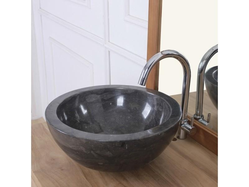 Vasque Bol En Pierre De Marbre Noir Vente De Vasque Et Lavabo