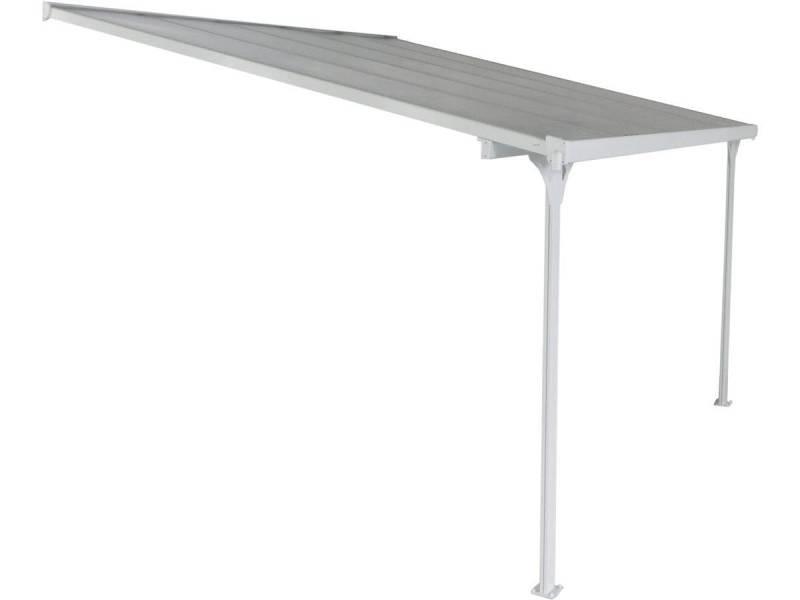 Pergola blanche aluminium \