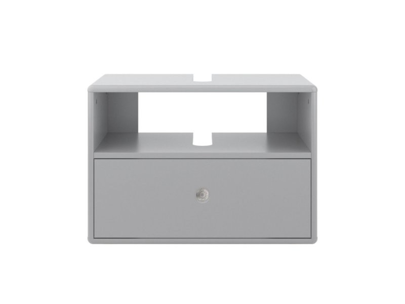Meuble sous-vasque à suspendre en bois loma 9004963012