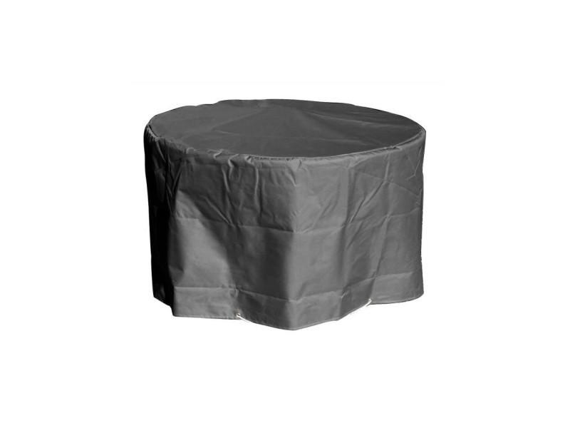 Green club housse de protection pour table ronde - ø160x65 cm ...
