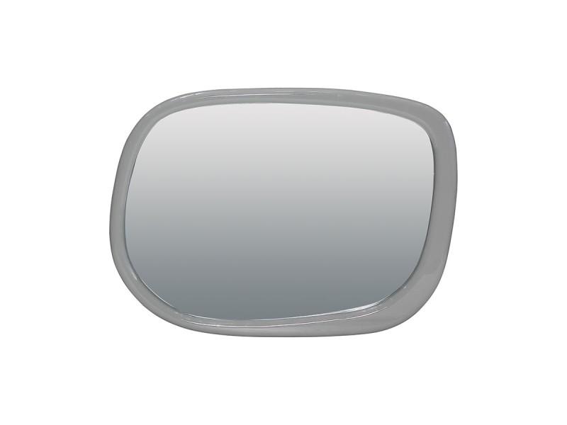 Miroir laqué isora - gris