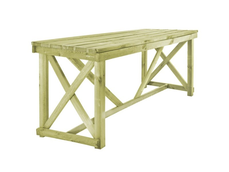 Superbe meubles de jardin serie prague table de salle à ...