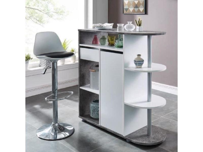 Mange-debout - table de bar - table haute damia table bar style ...