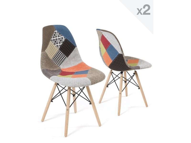 Chaises Design Patchwork Black Friday
