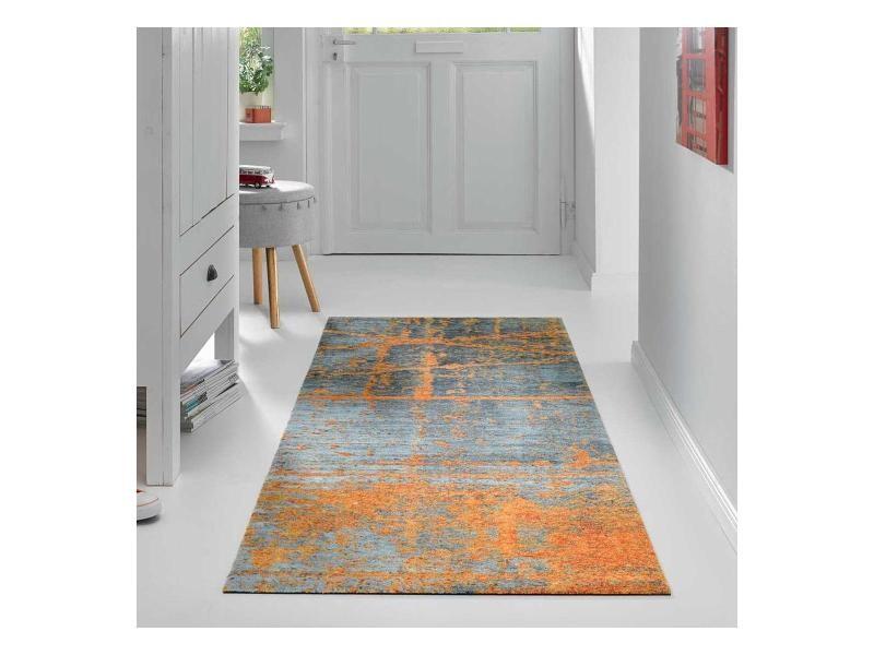 Tapis salon rusticol kt orange 170 x 240 cm tapis de salon ...