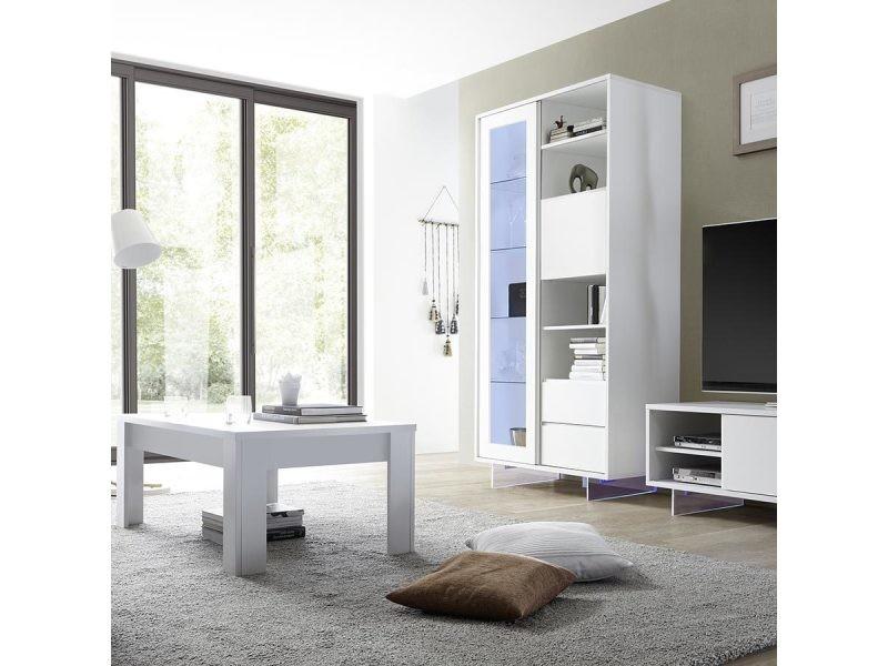design laqué Vente mat basse blanc verlaine de Table ikXuwOPZT