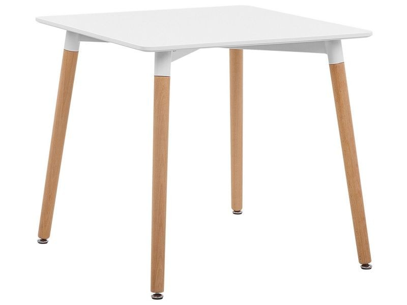 Table blanche 80 x 80 cm busto 173925