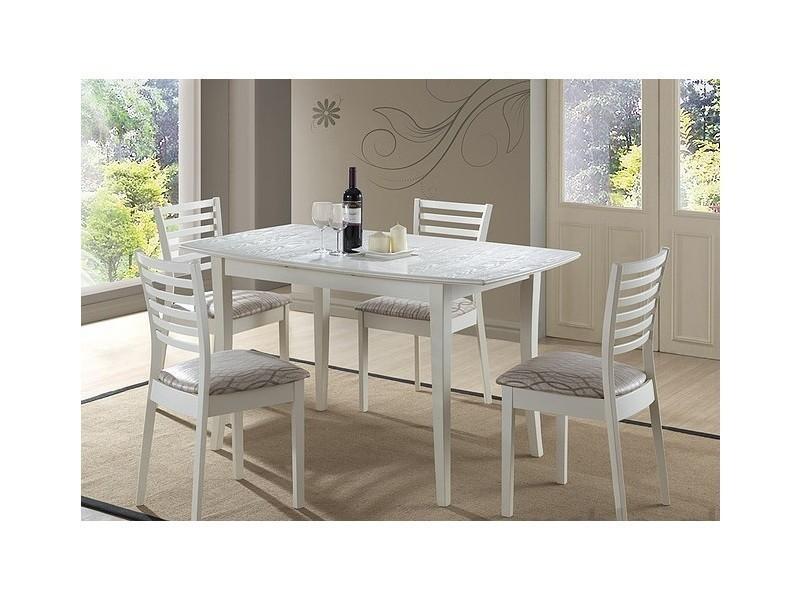 Table à manger extensible 110 ÷ 145 cm x 80 cm x 75 cm