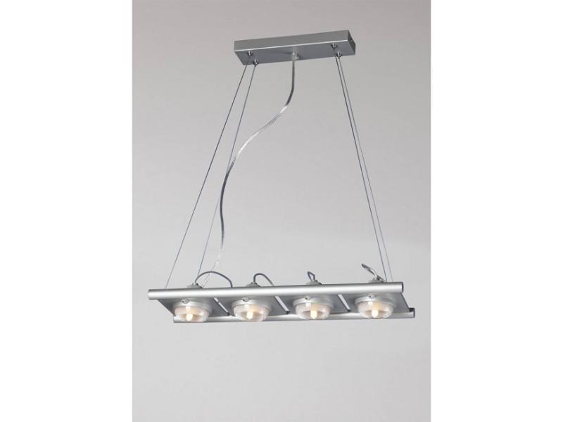 Suspension G9 Ull Vente Argenté Ampoules De Luminaire 4 Gris UzpGSMVq