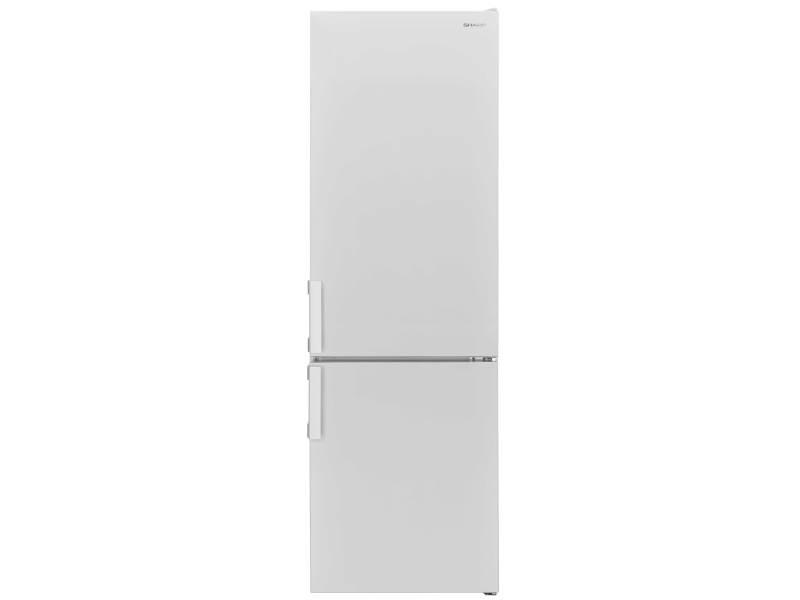 Réfrigérateur combiné 287l froid statique sharp 54cm a+, sjbb04ntxwf