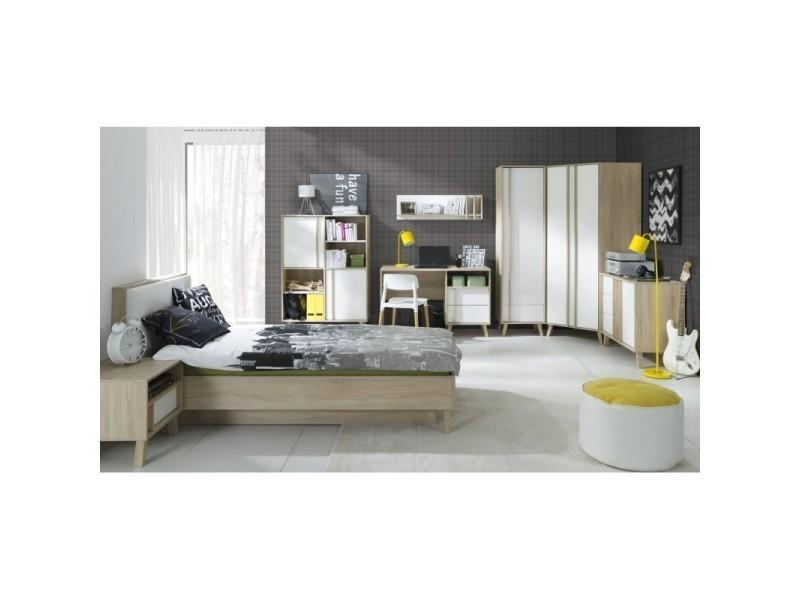 Chambre Complète Enfant/ado 8 éléments De La Collection Malmo. Meuble  Design Type Scandinave.